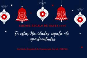 CHEQUE REGALO NAVIDAD INEFSO