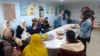 Un grupo de 9 jóvenes de la asociación ATIM Rioja se forman como mediadores/as interculturales a través del curso de mediación intercultural de INEFSO.