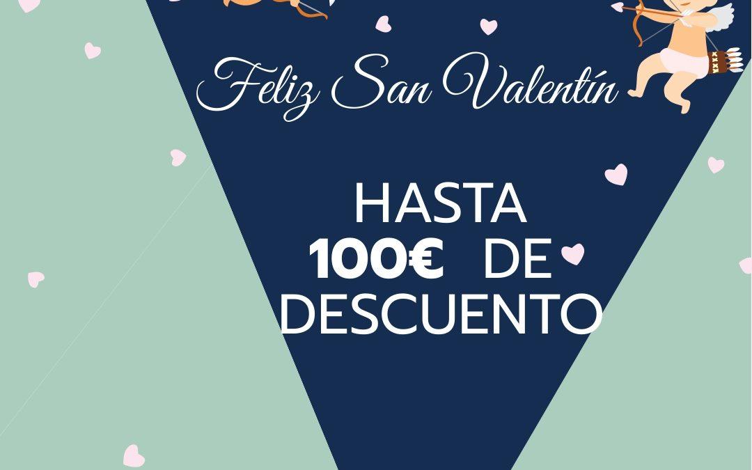 SAN VALENTÍN INEFSO. 100 € DE DESCUENTO EN TODOS LOS MÁSTERES /50€ EN TODOS LOS CURSOS Y POSTGRADOS. Hasta el 14 de febrero a las 24 horas.