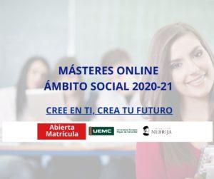 masteres universitarios online